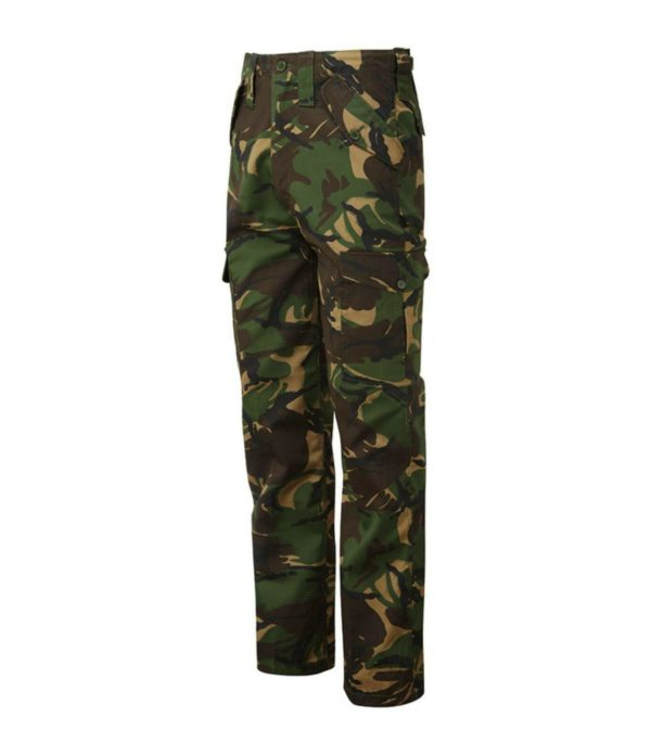 Castle Combat Trousers - 28 (28) Olive Green