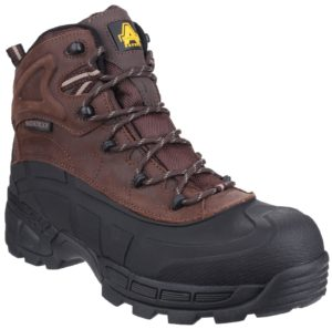 Amblers Black or Brown Safety Hybrid Boot Memory Foam FS430