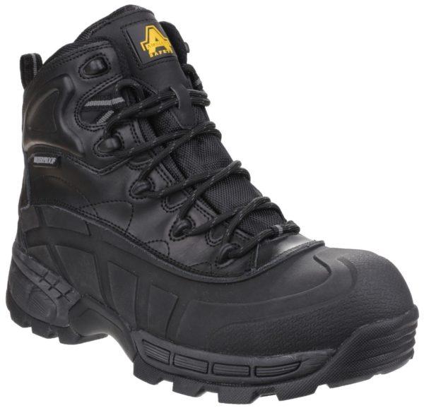 Amblers Black or Brown Safety Hybrid Boot Memory Foam FS430