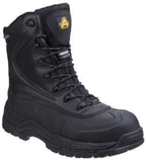 Amblers skomer hi leg Safety boot with inside zip AS440