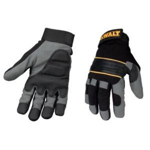 Dewalt Full Finger Gloves Grey/Black DPG33