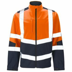 Supertouch Hi vis Softshell Two Tone Jacket H142
