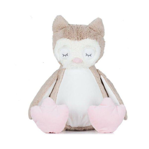 Zippie Owl Light Grey/White One Size